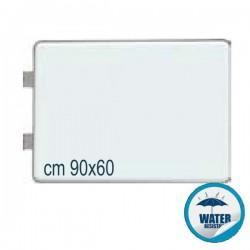 INSEGNA BIFACCIALE LUMINOSA RETTANGOLARE CM 90X60 - CB56