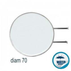 INSEGNA BIFACCIALE LUMINOSA TONDA DIAM 70CM - CB43
