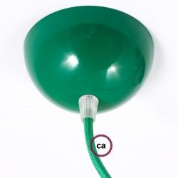 Rosone verniciato verde + 1 Serracavo Trasparente + 1 Dado + 1 Piastrina tendicavo