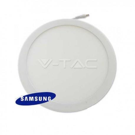 V-TAC VT-2200 RD PANNELLO LED ROTONDO 22W SMD5630 DA INCASSO - SKU 4835 / 4834 / 4833