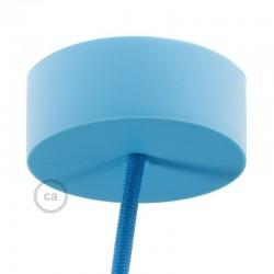 Rosone in Silicone Azzurro