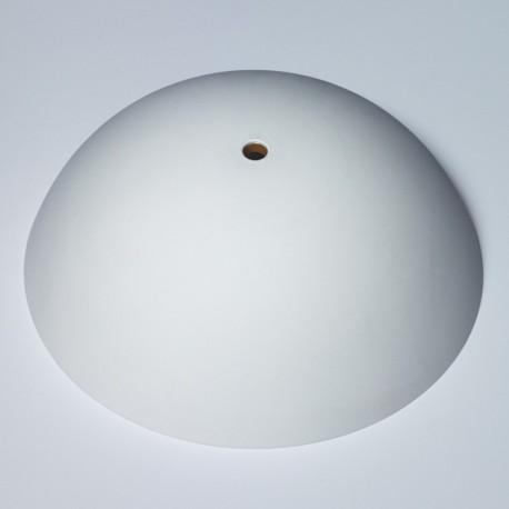 Cable cup bianco, rosone in silicone, montaggio istantaneo adatto a qualsiasi soffitto