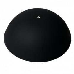 Cable cup nero, rosone in silicone, montaggio istantaneo adatto a qualsiasi soffitto