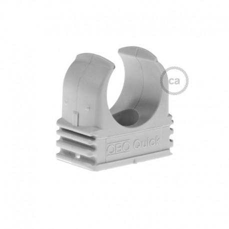 Clip fissatubo in plastica, diametro 16 mm, per Creative-TubeClip fissatubo in plastica, diametro 20 mm, per Creative-Tube