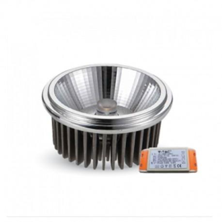 V-TAC VT-1120 LAMPADINA LED AR111 20W FARETTO DA INCASSO - SKU 1243 / 1244 / 1245