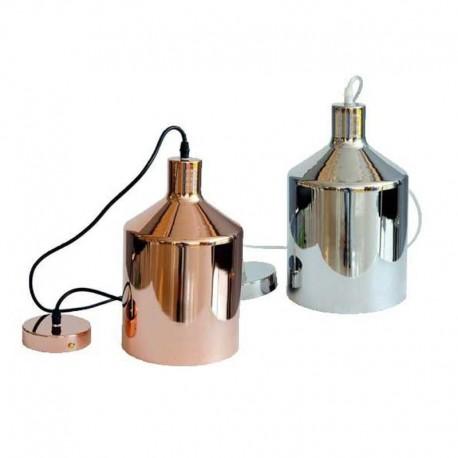 V-TAC VT-8175 LAMPADARIO IN METALLO CROMATO CON PORTALAMPADA PER LAMPADINE E27 - SKU 3706 / 3705