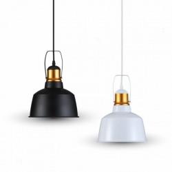 V-TAC VT-7422 LAMPADARIO IN METALLO CON PORTALAMPADA PER LAMPADINE E27 - SKU 3729 / 3728