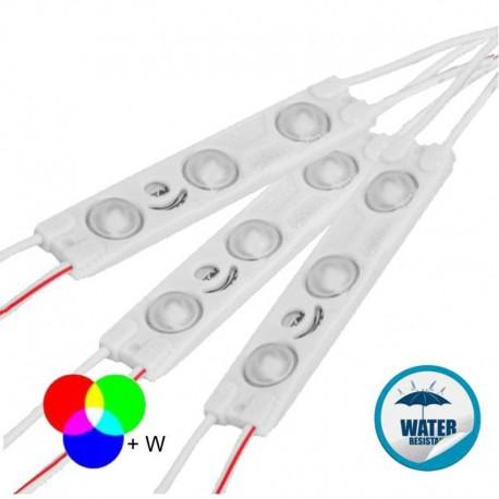 V-TAC VT-28353 MODULO 3 LED 1W 12V MONOCOLORE IMPERMEABILE - SKU 5120 / 5121 / 5122 / 5123