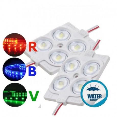 V-TAC VT-28356 MODULO 4 LED 1,44W 12V MONOCOLORE IMPERMEABILE - SKU 5131 / 5132 / 5133