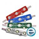 V-TAC VT-50503 MODULO 3 LED 0,72W 12V MONOCOLORE IMPERMEABILE - SKU 5116 / 5117 / 5118 / 5119