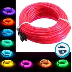 V-TAC VT-555 LED NEON STRIPLIGHT IMPERMEABILE COLORATA - BOBINA DA 10 METRI - SKU 2515 / 2516 / 2517 / 2518 / 2529 / 2531
