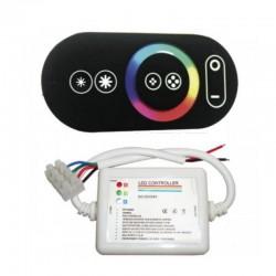 V-TAC CONTROLLER PER STRISCE LED RGB CON TELECOMANDO TOUCH - SKU 3312