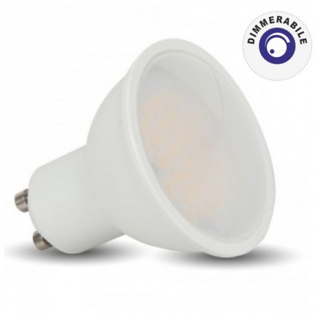 V-TAC VT-2887 D LAMPADINA LED GU10 7W FARETTO SPOTLIGHT DIMMERABILE - SKU 1669 / 1670 / 1671