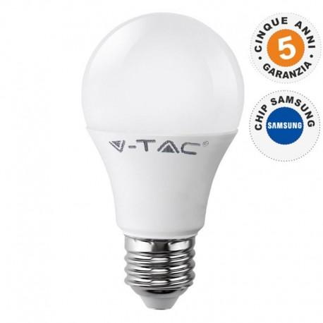V-TAC PRO VT-209 LAMPADINA LED E27 9W BULB A58 CHIP SAMSUNG - SKU 156 / 157 / 158