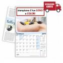 CALENDARIO ILLUSTRATO SALUTE E BENESSERE - Conf. 100 pezzi