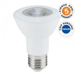 V-TAC PRO VT-220 LAMPADINA LED E27 7W BULB PAR LAMP PAR20 CHIP SAMSUNG - SKU 147 / 148 / 149