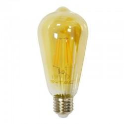 V-TAC VT-1966 LAMPADINA LED E27 6W BULB ST64 FILAMENTO - SKU 4362
