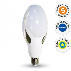 V-TAC VT-240 LAMPADINA LED OLIVE LAMP E27 36W CHIP SAMSUNG - SKU 283 / 284 / 285