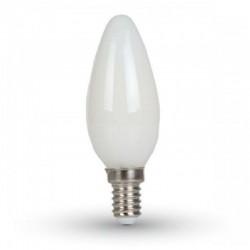 V-TAC VT-1924 LAMPADINA LED E14 4W CANDELA FROST FILAMENTO - SKU 7101 / 7102 / 7103