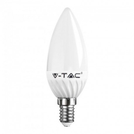V-TAC VT-1818 LAMPADINA LED E14 4W CANDELA - SKU 4216 / 4166 / 4122