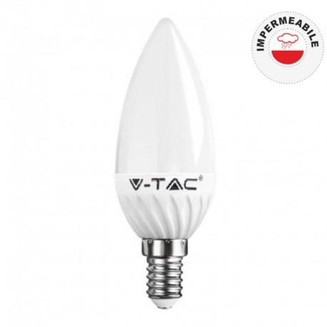 V-TAC VT-1854D LAMPADINA LED E14 6W CANDELA DIMMERABILE - SKU 4213