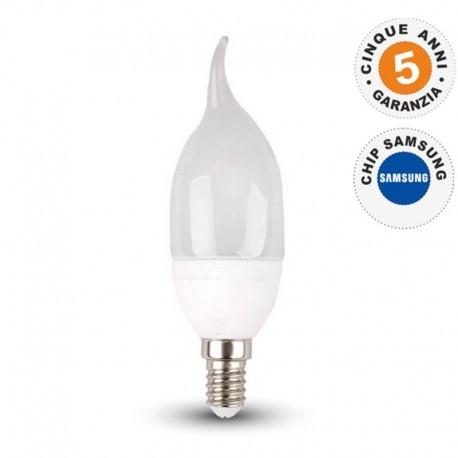 V-TAC VT-1855TP LAMPADINA LED E14 6W CANDELA FIAMMA - SKU 4351 / 4352 / 4353