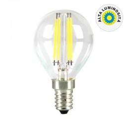 V-TAC VT-1996 LAMPADINA LED E14 4W MINIGLOBO FILAMENTO P45 - SKU 43001 / 44251 / 44261