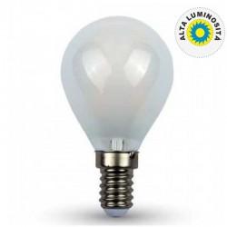 V-TAC VT-1835 LAMPADINA LED E14 4W MINIGLOBO P45 FROST FILAMENTO - SKU 44921 / 44931 / 44941
