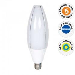 V-TAC VT-260 PRO LAMPADINA LED OLIVE LAMP E40 60W CHIP SAMSUNG - SKU 187 - 188