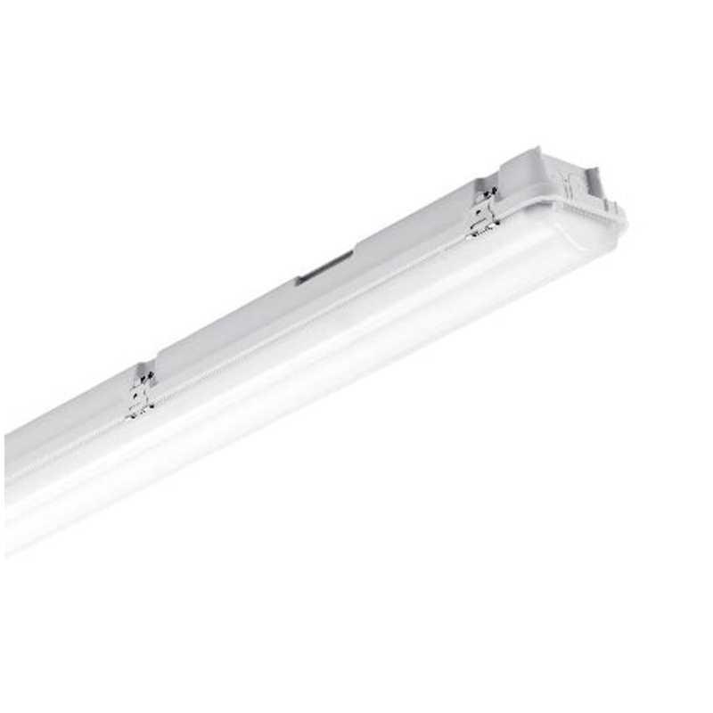 SKU 6387 6399 TUBO LED PLAFONIERA 2X18W LAMPADINA 120CM IMPERMEABILE