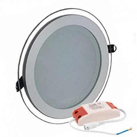 V-TAC VT-1202G RD PANNELLO LED ROTONDO 12W SMD2835 DA INCASSO - SKU 4744 / 6279 / 4743