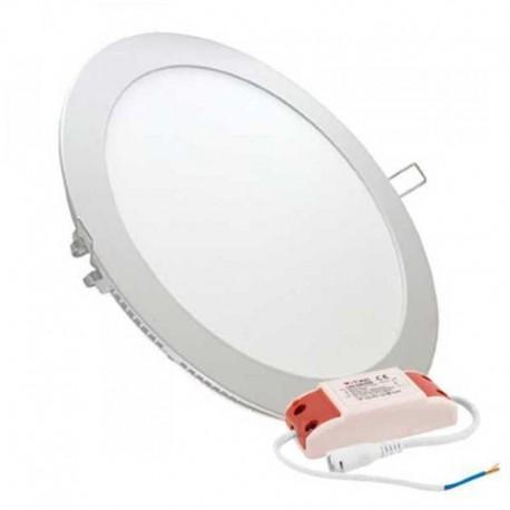 V-TAC VT-2407 RD PANNELLO LED ROTONDO 24W SMD DA INCASSO CON DRIVER - SKU 4872 / 4873 / 4874