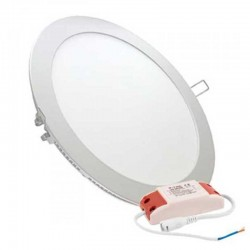 V-TAC VT-3107RD PANNELLO LED ROTONDO 30W SMD DA INCASSO CON DRIVER - SKU 6428 / 6429