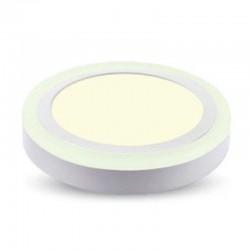V-TAC VT-1509RD PANNELLO BI-LED ROTONDO 12W + 3W SMD - SKU 4893 / 4894 / 4895