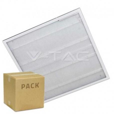 V-TAC VT-6139 4 PANNELLI LED A MONTAGGIO SUPERFICIALE O INCASSO 60X60 36W SMD CON DRIVER - SKU 6380 / 6381