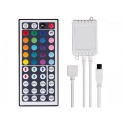 V-TAC CONTROLLER PER STRISCE LED RGB 5050 CON TELECOMANDO 44 TASTI - SKU 3317