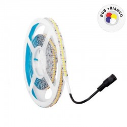 V-TAC VT-5050IP2030R STRISCIA LED 5050 MULTICOLORE RGB+W 60 LED/METRO - BOBINA DA 5 METRI - SKU 2553 / 2552