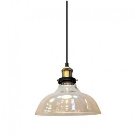 V-TAC VT-7210 LAMPADARIO IN VETRO CON PORTALAMPADA PER LAMPADINE E27 - SKU 3730