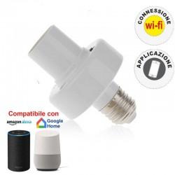 V-TAC SMART VT-5007 PORTALAMPADA PER LAMPADINE E27 WI-FI - SKU 8421