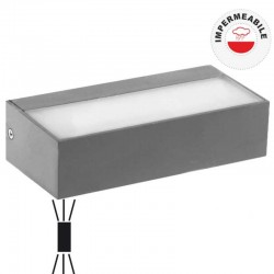 V-TAC VT-8056 LAMPADA LED DA MURO 9W WALL LIGHT DOPPIA UP&DOWN - SKU 8239 / 8240 / 8241