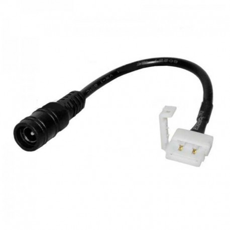 CONNETTORE FLESSIBILE PER STRISCE LED MULTICOLORE RGB 5050 CLIP 4 PIN - SKU 3508