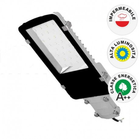 V-TAC VT-15080ST LAMPADA STRADALE LED 80W LAMPIONE SMD - SKU 5466 / 5467