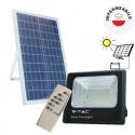 V-TAC PRO VT-200W FARO LED SMD 40W CON PANNELLO SOLARE DA ESTERNO - SKU 8577 / 94026