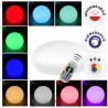 V-TAC VT-7804 LED STONE MULTICOLOR RGB 1W RICARICABILE CON TELECOMANDO IP67 - SKU 40171
