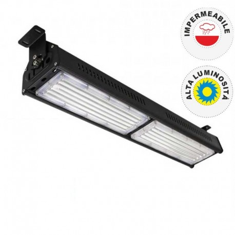 V-TAC VT-9108 LAMPADA INDUSTRIALE LED LINEAR 100W SMD HIGH BAY - SKU 5599 / 5600