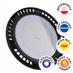 V-TAC PRO VT-9-101 LAMPADA INDUSTRIALE LED UFO SHAPE 100W SMD 120° DIMMERABILE HIGH BAY CHIP SAMSUNG - SKU 562 / 563