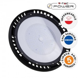 V-TAC PRO VT-9-148 LAMPADA INDUSTRIALE LED UFO SHAPE 150W SMD 90° HIGH BAY CHIP SAMSUNG - SKU 552 / 553