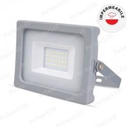 V-TAC VT-4911 FARETTO LED SMD 10W ULTRA SOTTILE DA ESTERNO COLORE GRIGIO-NERO - SKU 5774 / 5775 / 5776