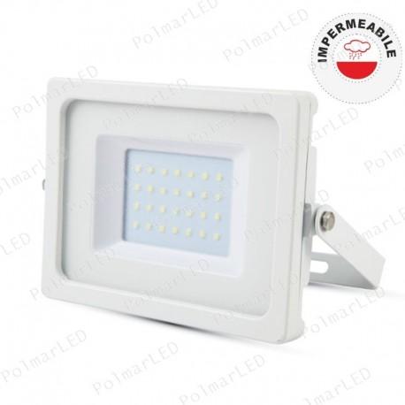V-TAC VT-49100 FARETTO LED SMD 100W ULTRASOTTILE DA ESTERNO COLORE GRIGIO - SKU 5852 / 5853 / 5854
