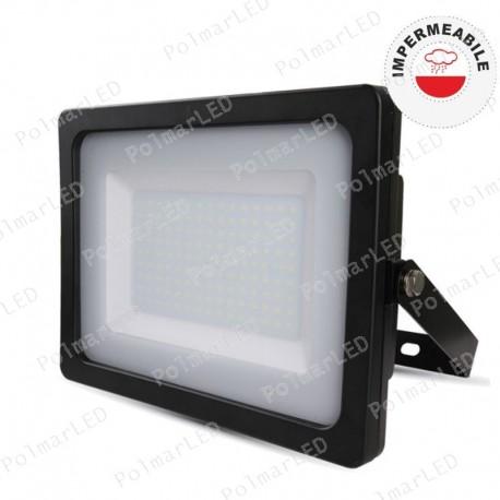 V-TAC VT-49150 FARETTO LED SMD 150W DA ESTERNO COLORE NERO - SKU 5861 / 5862 / 5863